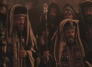 Los que prendieron a Jesús, lo llevaron a casa de Caifás, Sumo Pontífice