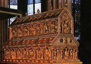 Relicario que contiene a los 3 Reyes Magos