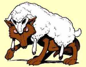 Cuidaos de los falsos profetas que vienen a vosotros vestidos con piel de oveja, mas por dentro son lobos rapaces. (San Mateo 7.15-21)