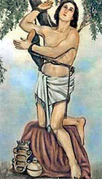 San Pantaleón, médico rico de Nicomedia, no abandonó su profesión; no hizo sino ejercerla con más éxito: sanaba a los enfermos invocando el nombre de Jesús. Los médicos paganos, envidiosos de sus curaciones maravillosas que de este mod9 efectuaba, lo denunciaron al emperador l\.1aximiano. Éste le hizo sufrir los más crueles tormentos; pero el santo, alentado por la aparición del Salvador mismo, los soportó con invencible valor. Fue por fin decapitado, hacia el año 305.
