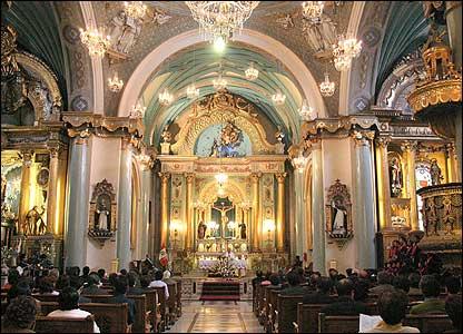 """""""Iglesia del convento de Santo Domingo en Lima. Cuatro santos recorrieron sus pasillos durante el virreinato español en Perú. Entre ellos, Santa Rosa de Lima. Foto: Vladimir Terán Altamirano."""
