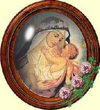 """""""Como arco que reluce entre nubes de gloria; y como flor de rosas en días de primavera"""". (Hebreos: IV, 16)"""