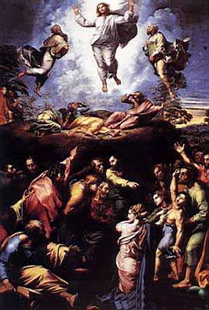 Tomó Jesús consigo a Pedro, a Santiago y a Juan su hermano; y subiendo con ellos a un alto monte, se transfiguró en su presencia. (San Mateo, 17, 1-2).