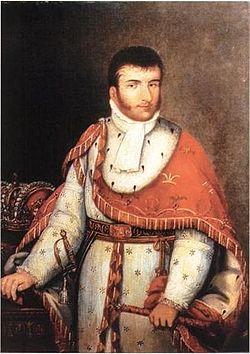 Agustín de Iturbide. Agustín I de México. Emperador de México.