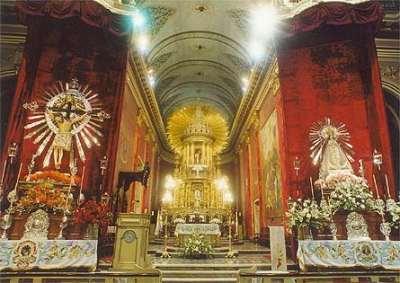 Interior de la Catedral de Salta, República Argentina