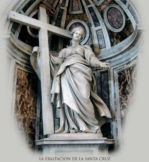 En cuanto a mí ¡Dios me libre gloriarme si no es en la cruz de nuestro Señor Jesucristo!... Gál. 6:14