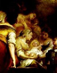Bienaventurado el seno que llevó a Jesús,y los pechos que lo alimentaron (San Lucas, 11, 27).