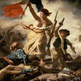 La Revolución Francesa. Ilustración y Despotismo ilustrado:Es un movimiento de culminación del racionalismo, para muchos es el comienzo de la etapa moderna e incluso la madre de la democracia. Es un movimiento anticlerical, y por lo tanto los más perjudicados serán el clero y el estado llano.