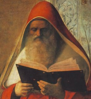 Jerónimo quiere decir: el que tiene un nombre sagrado. (Jero = sagrado. Nomos = nombre).