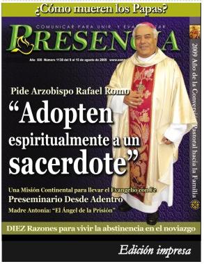 Semanario Presencia No.1138 del 9 al 15 de Agosto de 2009