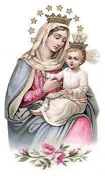 Regína sacratíssimi Rosárii, ora pro nobis