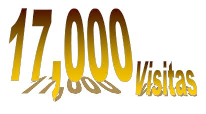 17,000 visitas