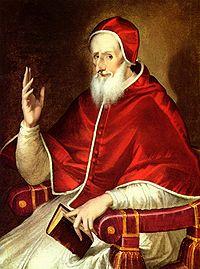 ¡Papa San Pío V Ora pro nobis!