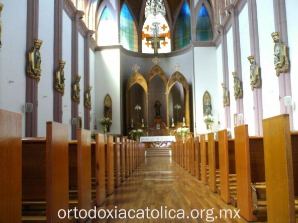 Templo San Francisco de Asís, en Tijuana B.C., México.
