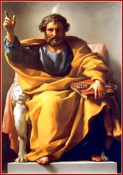 Tú eres Pedro, y sobre esta piedra edificaré mi Iglesia; y las puertas del infierno no prevalecerán contra ella; ya ti te daré las llaves del reino de los cielos. (San Mateo 16, 18-19).