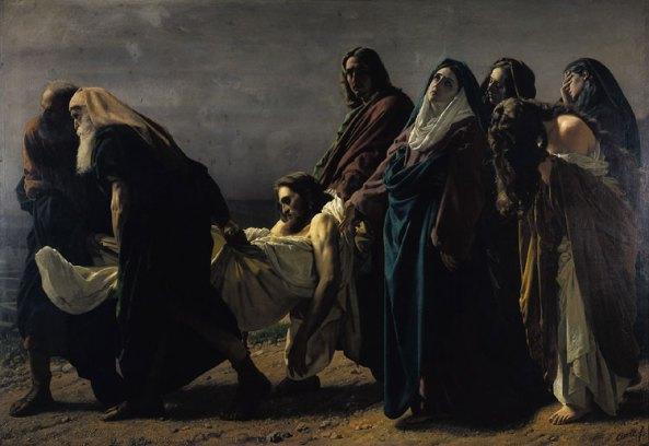 Traslado de Nuestro Señor Jesucristo al sepulcro