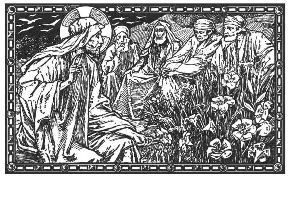 Ni Salomón en toda su gloria se vistió como uno de estos lirios