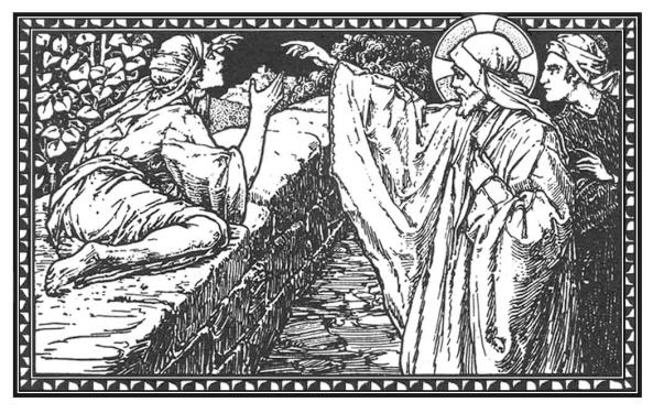 Y díjole Jesús: Ve; tu fe te ha salvado.