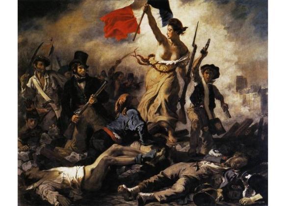 Con la Revolución francesa se declaró una verdadera división, la que, por otra parte, tuvo su inicio ya con los protestantes.