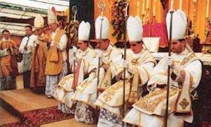Ordenaciones Episcopales (Econe, 30-junio-1988)