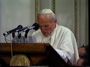Juan Pablo II en Paraguay 1988