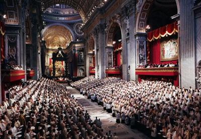 Las herejías del apóstata Concilio Vaticano II. Foto 1