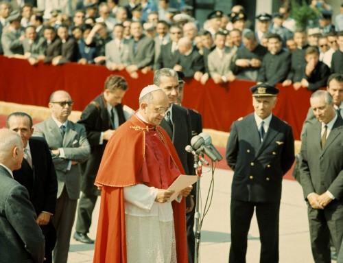 ceremonie de cloture de la derniere session du Concile Vatican II