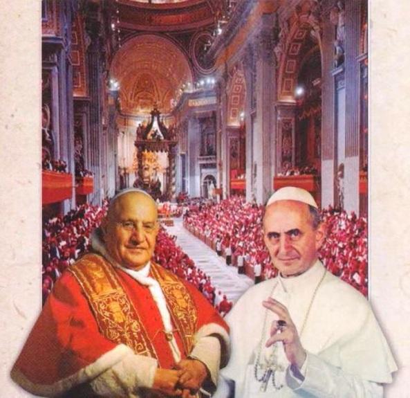 CVII  Juan XXIII y Pablo VI