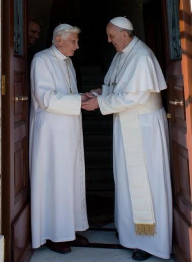 Dos papas en Roma