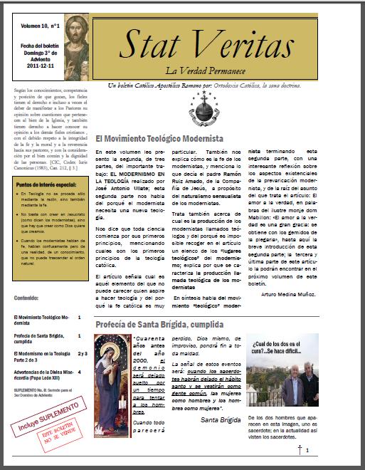 Boletín Stat Veritas No.10-Año 1-T.Carta