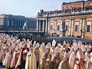 Obispos-en-el-Concilio-Vaticano-II