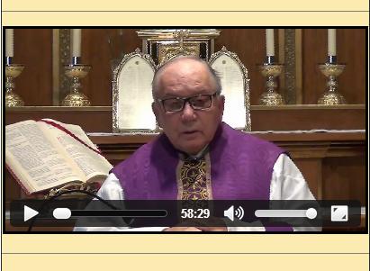 Sermón del 16 de marzo de 2014