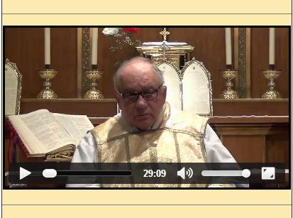 Sermón del 19 de marzo de 2014