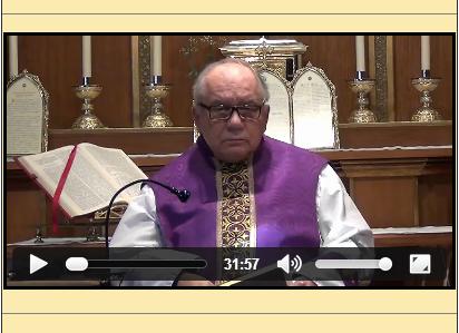 Sermón del 23 de marzo de 2014