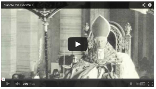 Video San Pío X