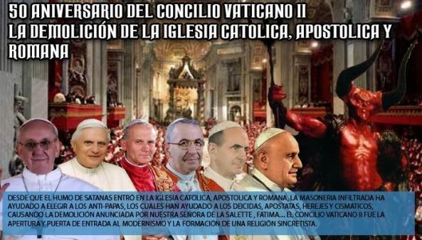 Contrario a cuanto creen algunos tradicionalistas, Roncalli JAMÁS se arrepintió del Vaticano II y su liberalismo.
