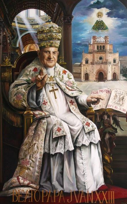 """La """"súper-infalibilidad que inventó Roncalli/Juan XXIII para legitimar el conciliábulo, encuadra con la profética observación de un prelado francés: """"La peor de las herejías será la exageración del debido respeto al Papa, por una extensión ilegítima de su infalibilidad""""."""
