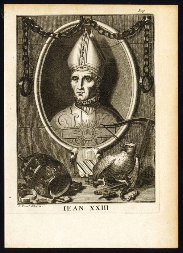 Antes de Roncalli, hubo un Juan XXIII: Baltasar Cossa, que fue antipapa cuando el Cisma de Occidente.