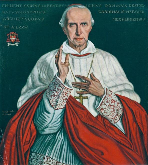 Desirée Mercier, Cardenal-Arzobispo de Malinas-Bruselas y Primado de Bélgica, un hipócrita.