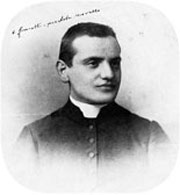 Angelo Roncalli, el día de su ordenación.