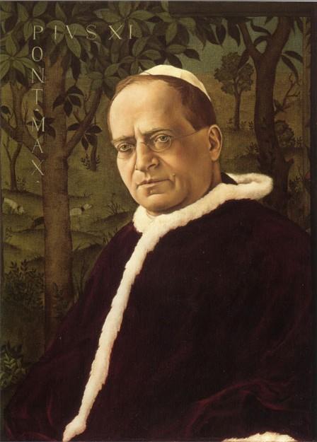Pío XI fue blanco de la desconfianza de Roncalli, por el sólo hecho de llegar a entendimientos con el Duce (Benito Mussolini).