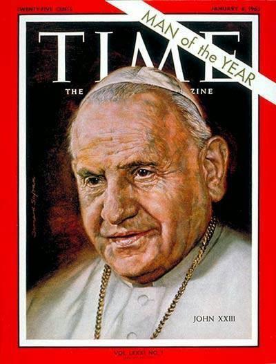 Roncalli fue honrado por la revista Time por su