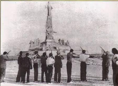 Cerro de los Angeles.Fusilamiento.1936