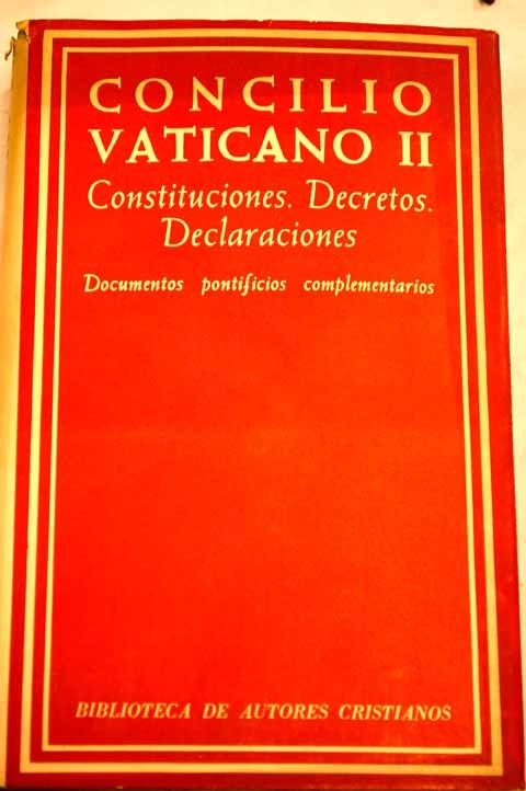Concilio Vaticano II Documentos
