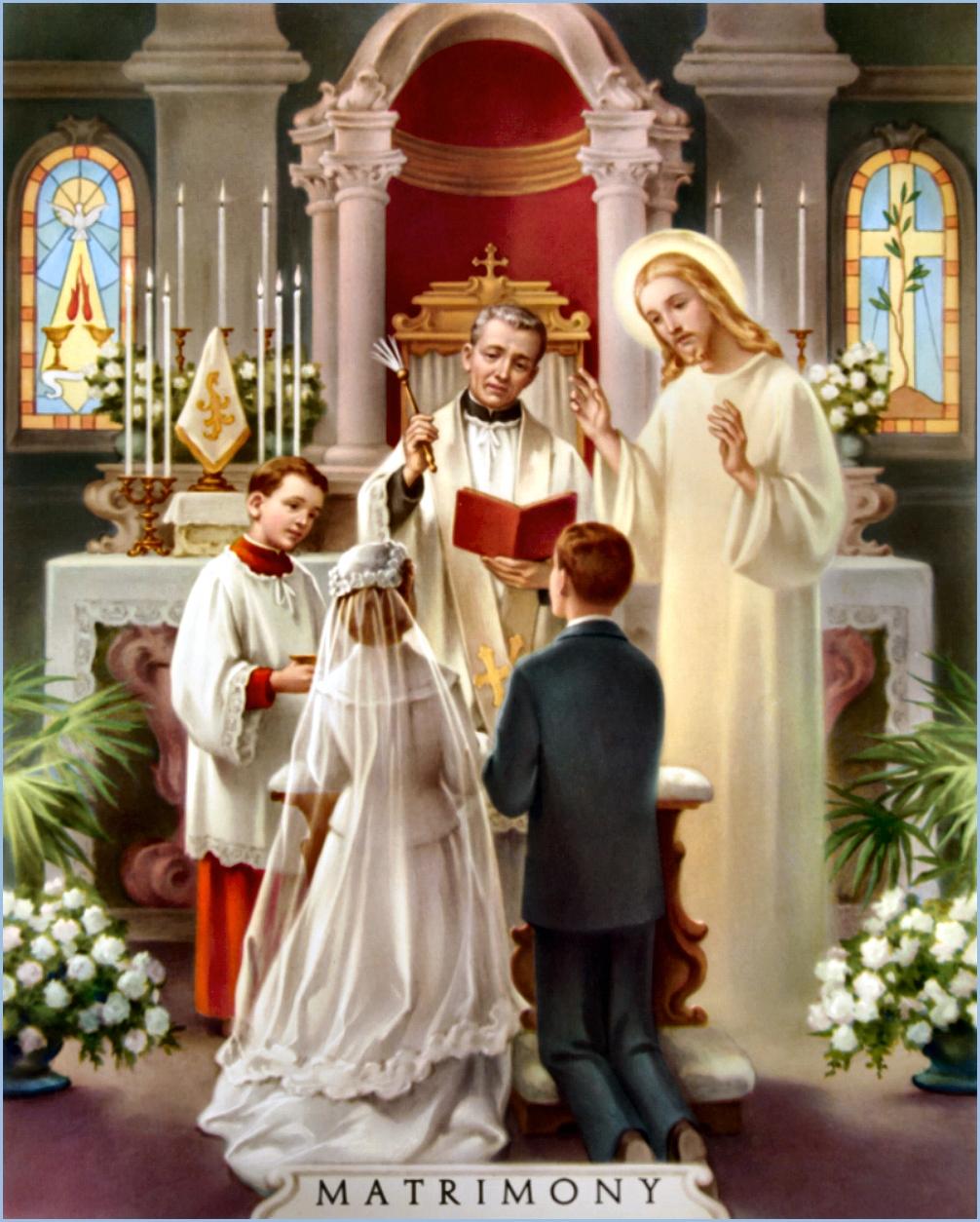 Matrimonio Catolico Tradicional : La verdadera forma y materia de los sacramentos catÓlicos