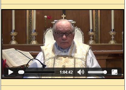Sermón del 11 de Mayo de 2014-I