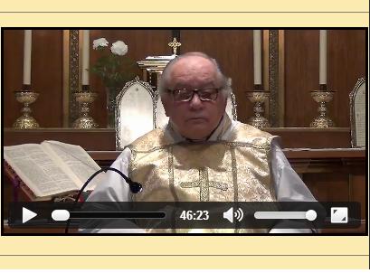 Sermón del 18 de Mayo de 2014