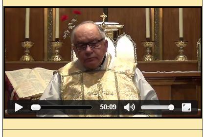Sermón del 01 de Junio de 2014