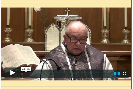 Sermón del 30 de Noviembre de 2014