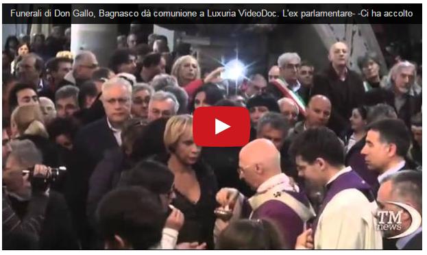 Video del funeral de Don Gallo
